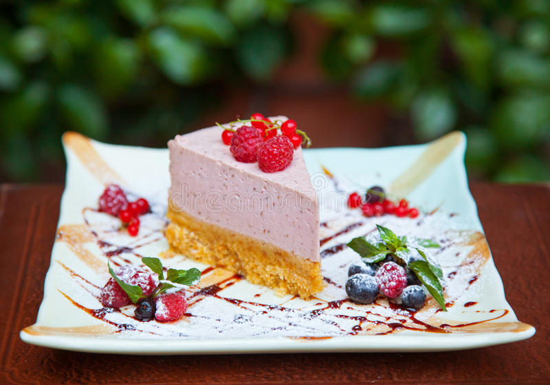 Deliciouse cheesecake obraz royalty free