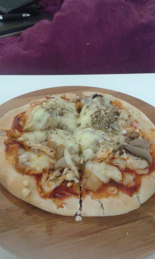 Deliciousness della pizza fotografie stock