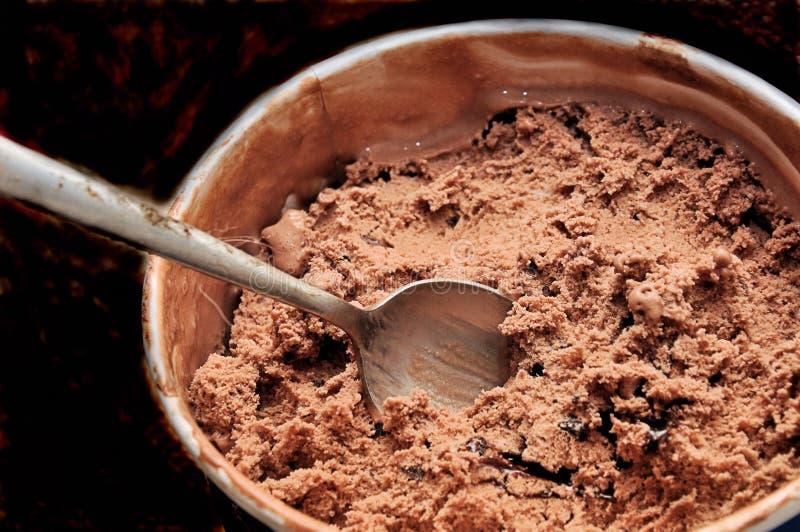 Delighgt triplo do chocolate fotos de stock royalty free