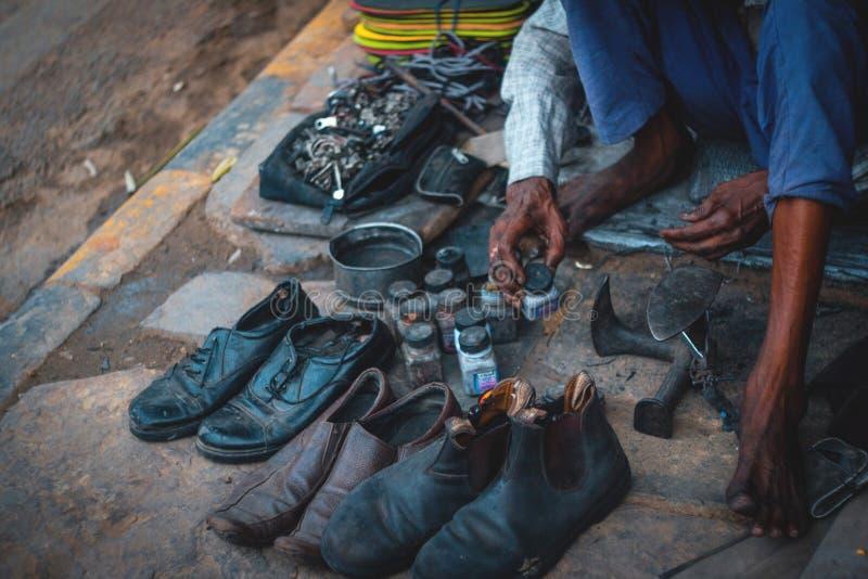 Delikatessaffär Indien fotografering för bildbyråer