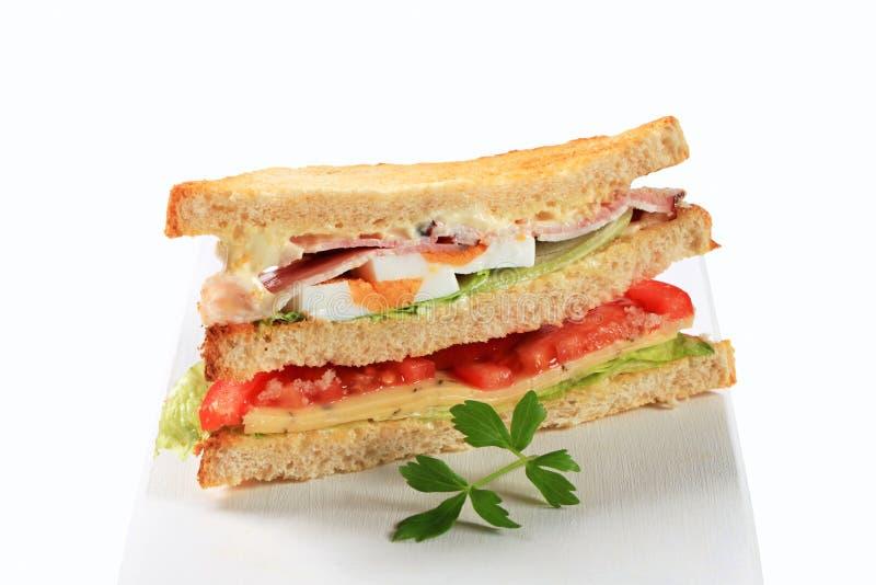 Download Delikatesy kanapka obraz stock. Obraz złożonej z jedzenie - 28957567
