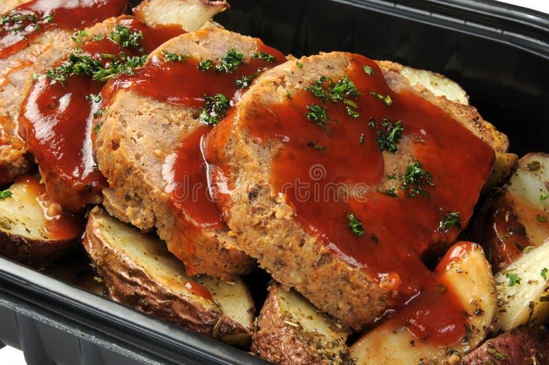 delikatesy meatloaf obraz stock