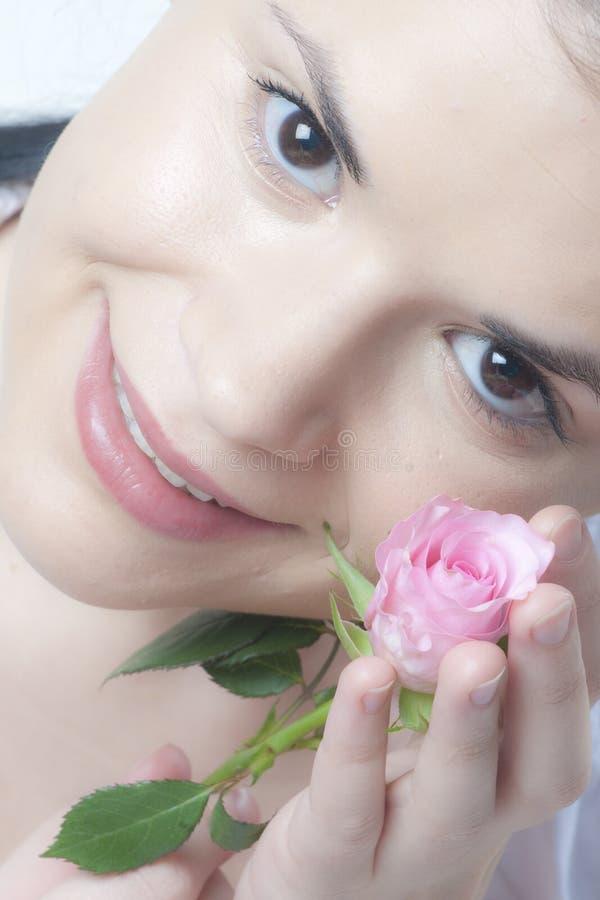 delikatnej skóry kobieta obrazy royalty free