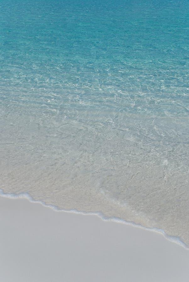 delikatny piaska kipieli biel zdjęcie stock