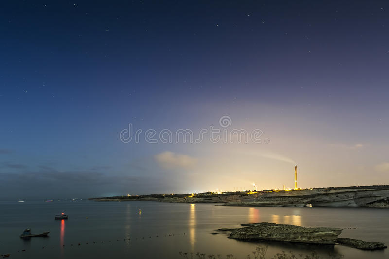 Download Delimara Power Station At Dawn Stock Photos - Image: 28173153
