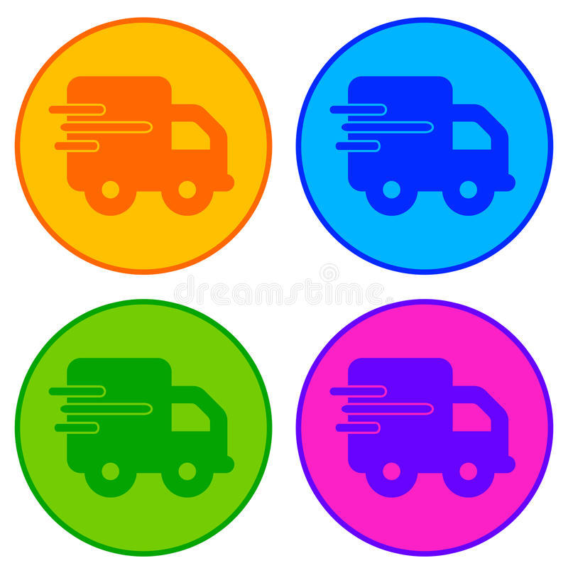 Download Delivery stock illustration. Image of icon, logo, companies - 24416984