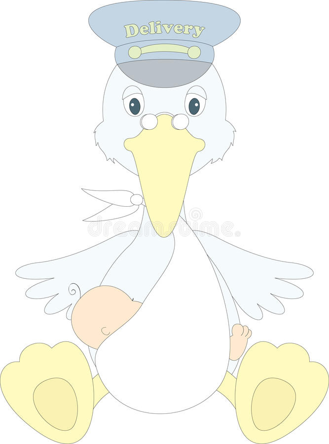 Download Delivery Bird Royalty Free Stock Photo - Image: 25845915