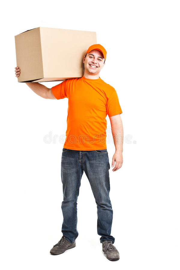 Download Delivery boy stock image. Image of home, delivery, length - 24015269