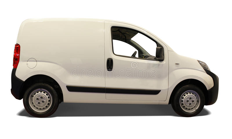 Delivery car royalty free stock photo