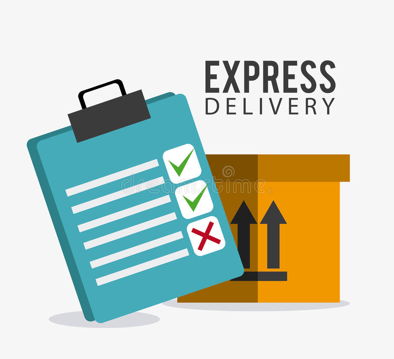 Delivery and logistics. Delivery, transport and logistics business, vector illustration vector illustration