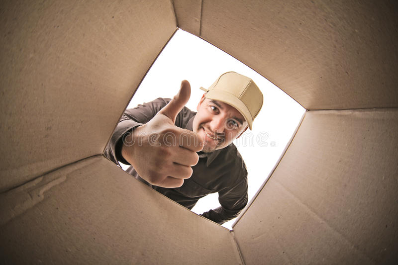 Download Delivery man stock photo. Image of industry, delivery - 27452758