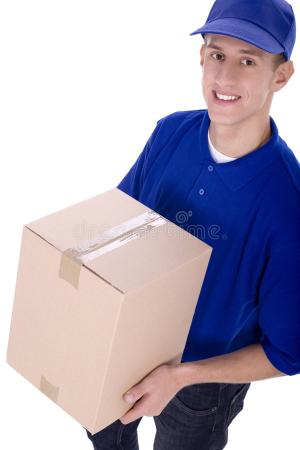 Download Delivery man stock photo. Image of profession, dispatch - 6808478