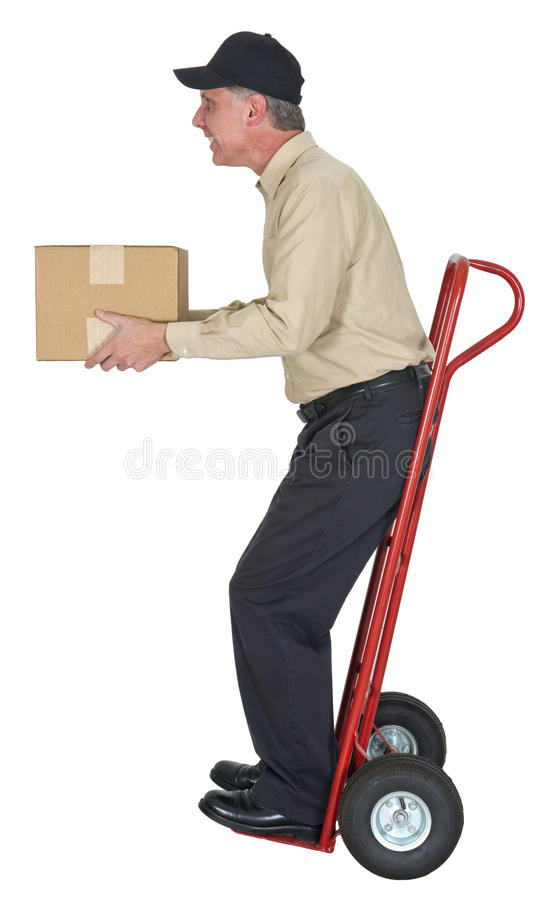 Delivery Man, Moving, Freight, Shipping, Package