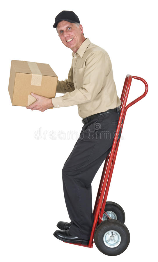 Download Delivery Man, Moving, Freight, Shipping, Package Stock Photo - Image: 26633916