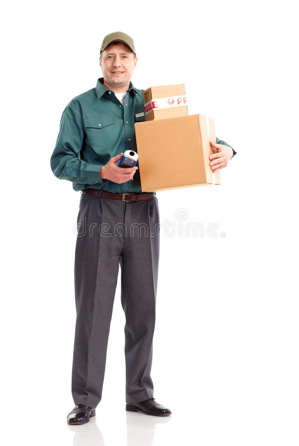 Download Delivery service stock photo. Image of background, isolated - 13531990