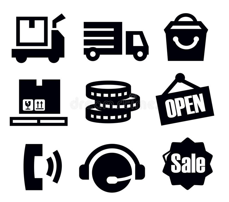 Download Delivery And Shipping Royalty Free Stock Image - Image: 29223516