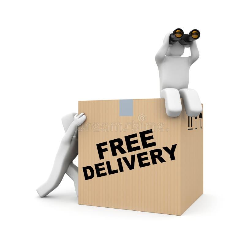 Delivery team vector illustration
