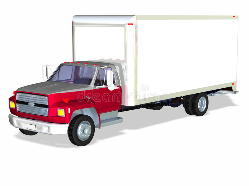 Download Delivery Truck 1 stock illustration. Image of shipment - 2650741