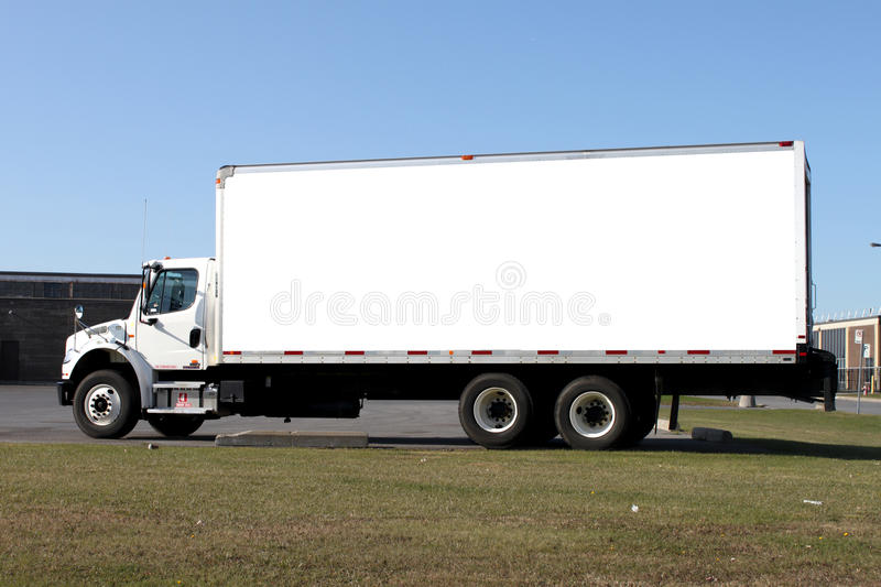 Download Delivery truck stock image. Image of copy, automobile - 12167319