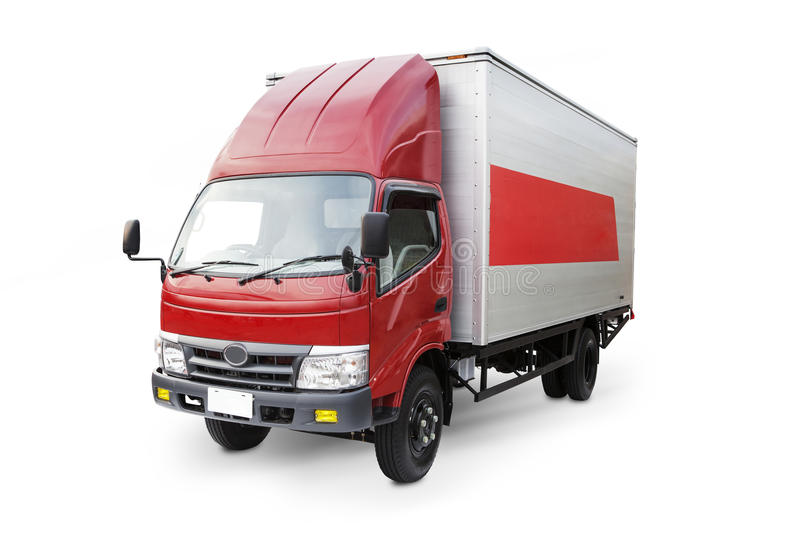 Download Delivery truck stock photo. Image of cargo, horizontal - 26846044