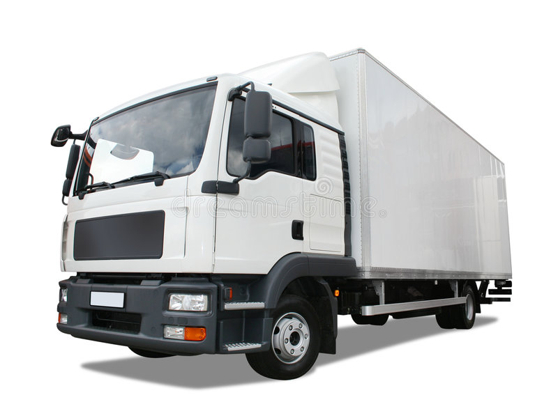 Download Delivery truck stock photo. Image of delivery, road, transportation - 8357714