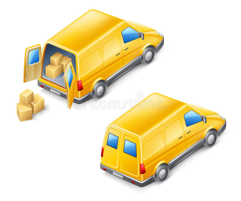 Download Delivery Van Royalty Free Stock Images - Image: 23817859