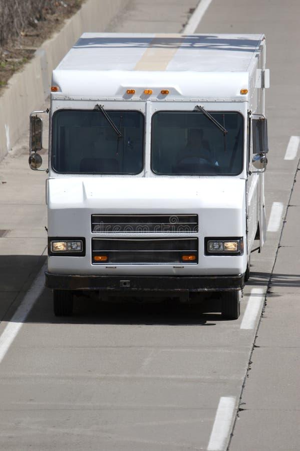 Delivery Van stock image