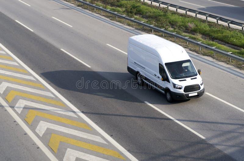 Delivery Van stock photos