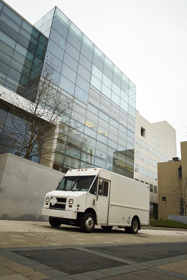 Download Delivery Van Office Royalty Free Stock Photo - Image: 36351305