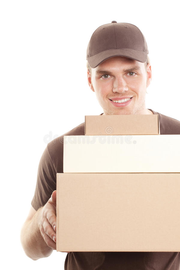 Free Deliveryman Royalty Free Stock Images - 20257989