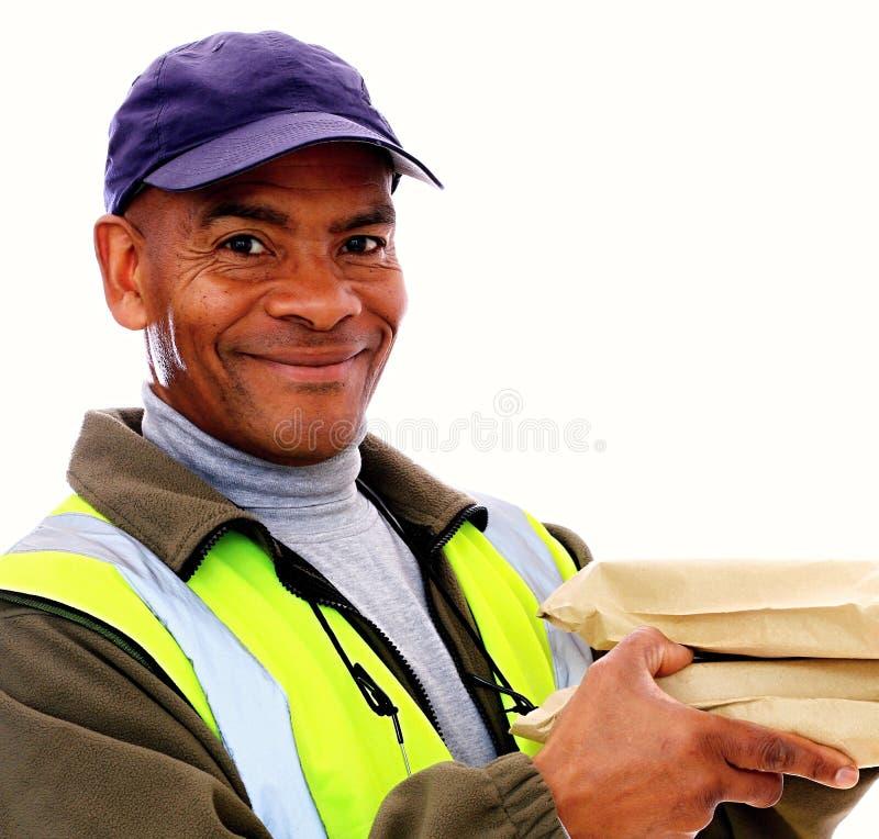 deliveryman zdjęcia royalty free