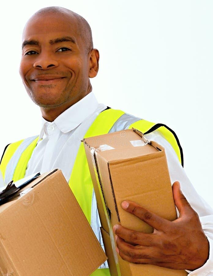 deliveryman obrazy stock