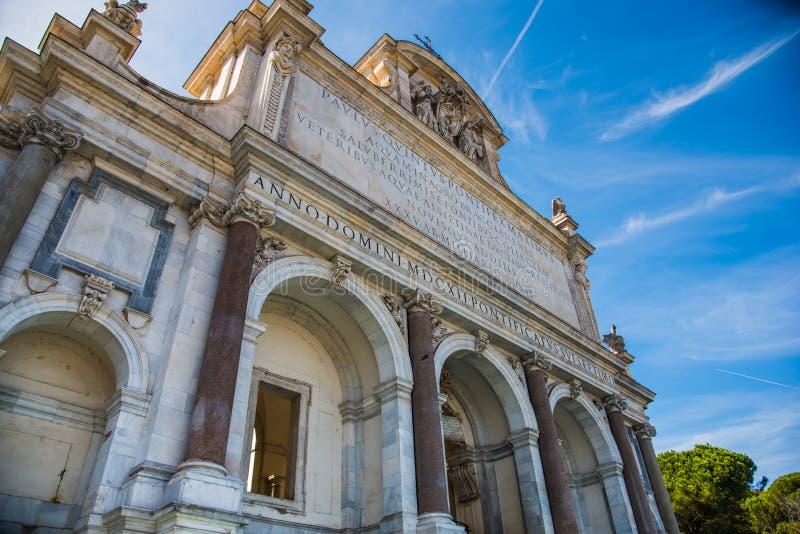 Dell Acqua Paola de Fontana en Roma imagen de archivo libre de regalías