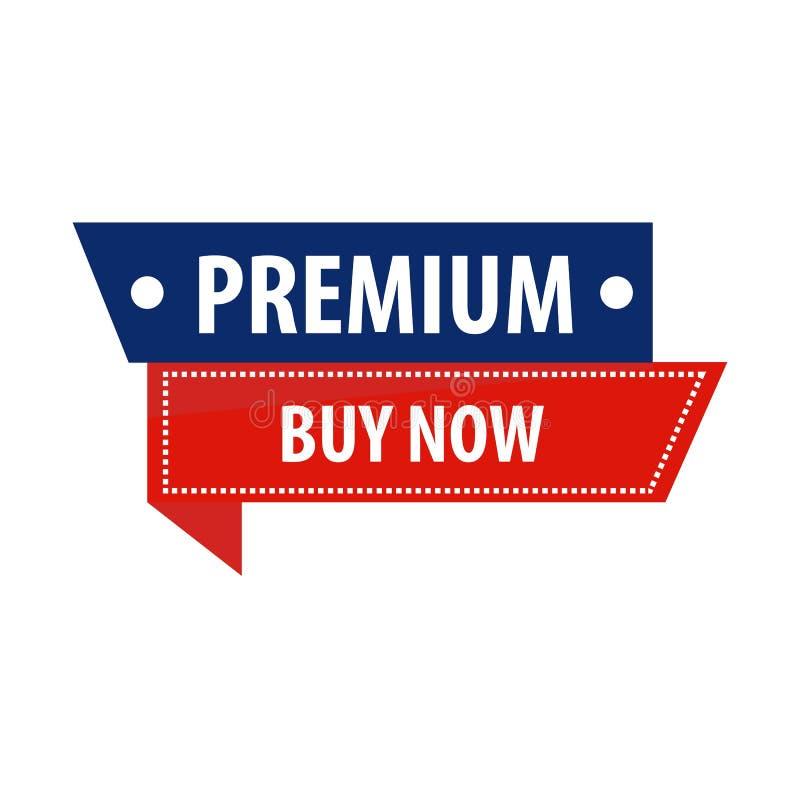 Dell'affare illustrazione premio di vettore dell'insegna di promozione di vendita ora royalty illustrazione gratis