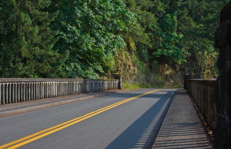 Dell-Brücke des Schäferhunds stockfoto