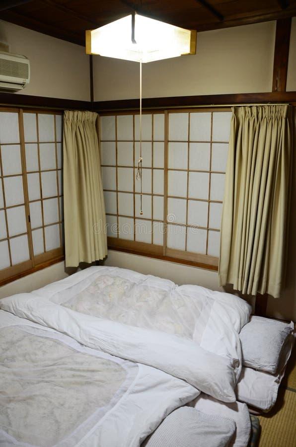 Dell'interno stile giapponese personale fotografia stock