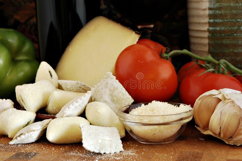 Dell'italiano vita ancora immagine stock