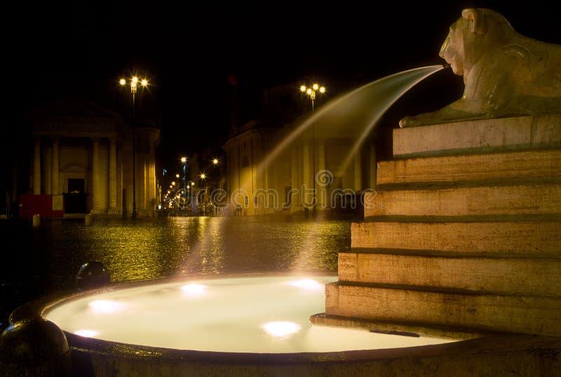 dell'Obelisco de Fontana, Roma fotos de archivo libres de regalías