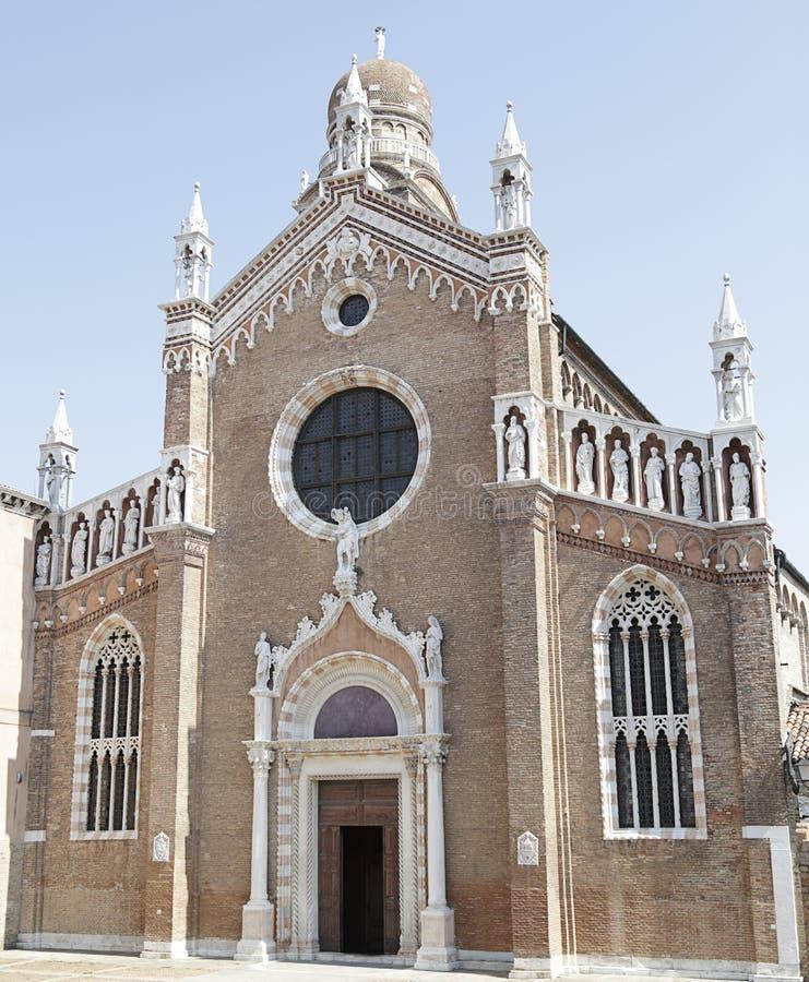 Dell'Orto Madonna, Венеция, Италия стоковая фотография