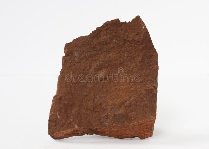 Della bauxite del minerale minerale metallifero di alluminio principale del ` s del mondo anche su fondo bianco fotografie stock