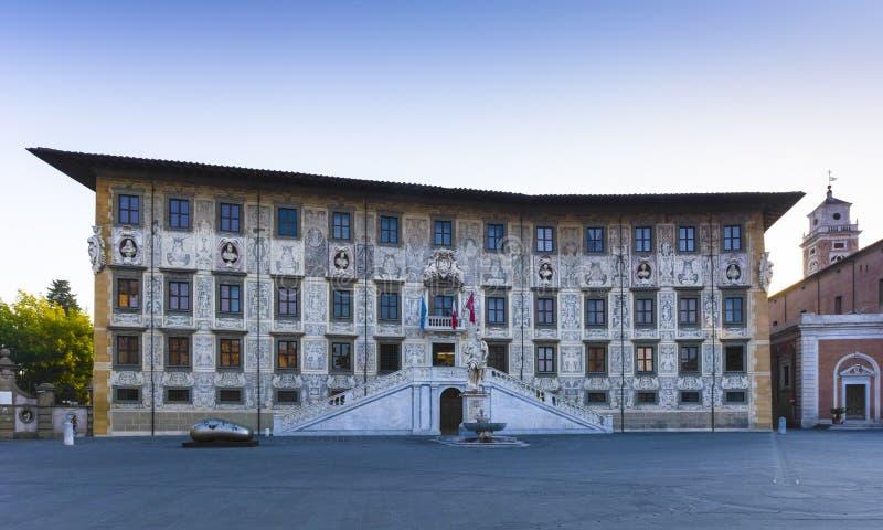 Della Carovana, Pisa, Toscana, Italia di Palazzo fotografie stock libere da diritti