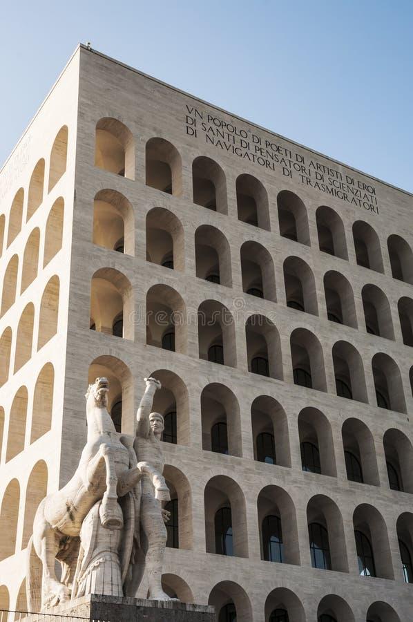Della Civilt? Italiana de Palazzo images stock