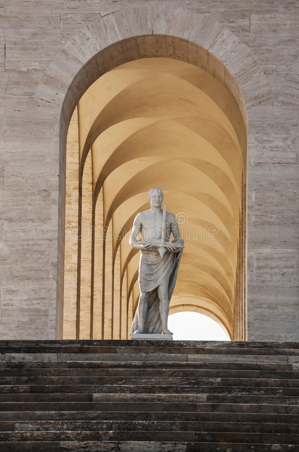 Della Civilt? Italiana de Palazzo fotografía de archivo