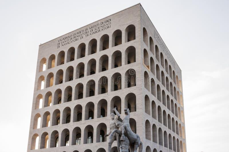 Della Civilt? Italiana de Palazzo imágenes de archivo libres de regalías