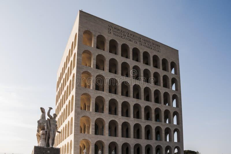 Della Civilt? Italiana de Palazzo foto de archivo