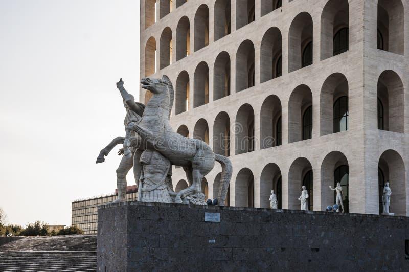 Della Civilt? Italiana de Palazzo fotos de archivo libres de regalías