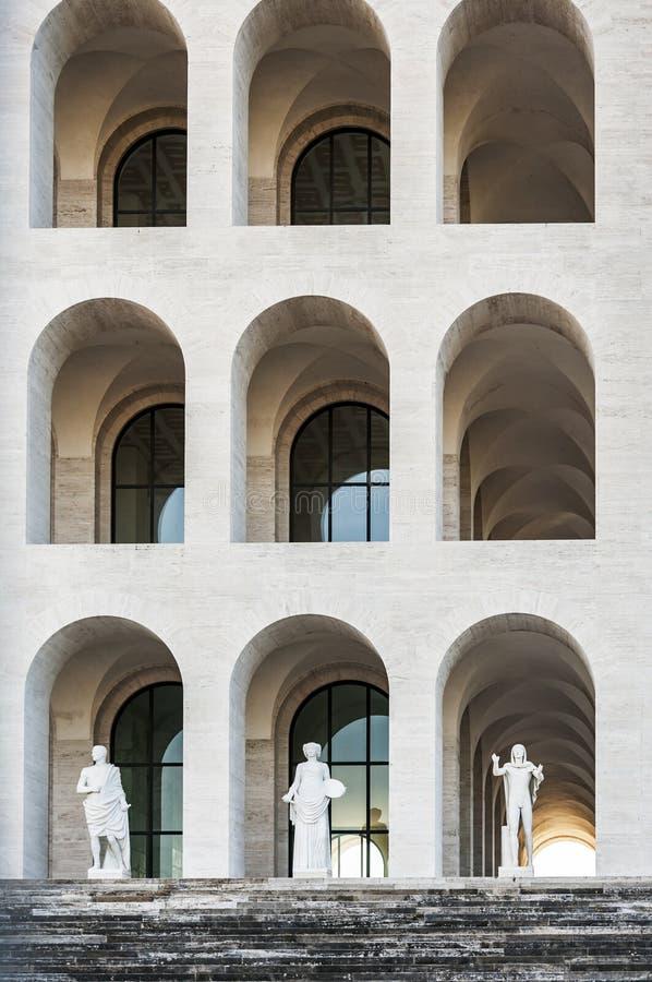 Della Civilta Italiana de Palazzo fotografía de archivo libre de regalías
