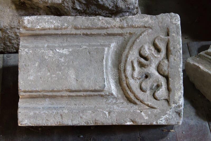 Della complexe archéologique Rotonda de Terme photo stock