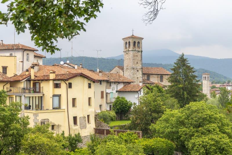 Della Gastaldaga da área, Cividale Del Friuli, Friuli-Venezia Giulia, Itália imagem de stock royalty free
