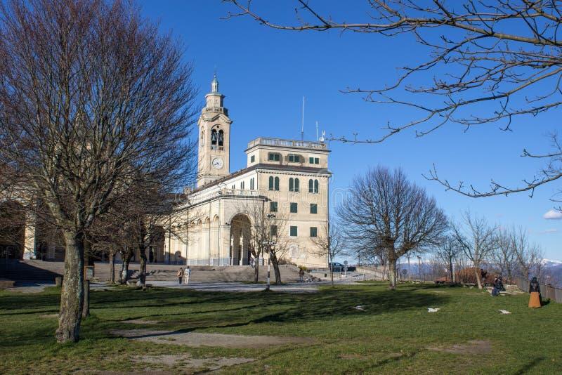Della Guardia, Γένοβα, Ιταλία Madonna αδύτων στοκ φωτογραφίες με δικαίωμα ελεύθερης χρήσης